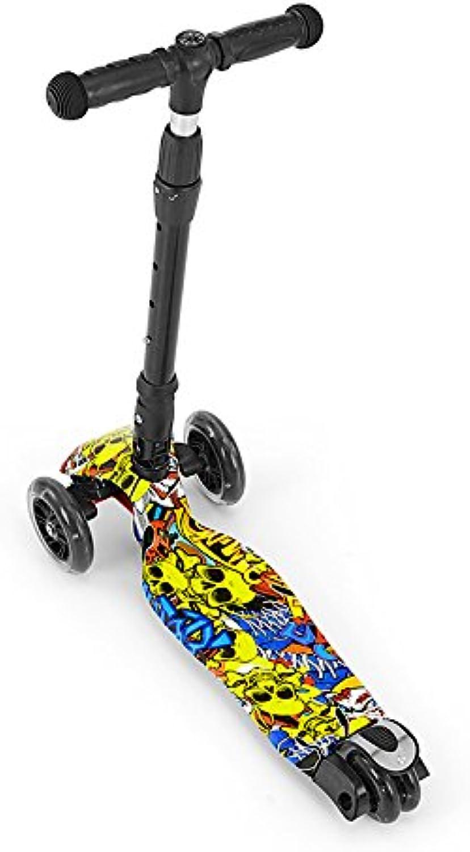 MILLY MALLY 23685 Magic Scooter Grafitti Model, MultiColour