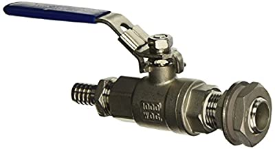 Weldless Stainless Steel Ball Valve and Spigot from Learn To Brew