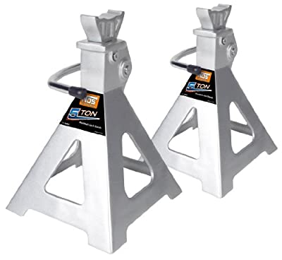 NOS NJS0301 3-Ton Aluminum Jack Stand Post Style, 2-Pack