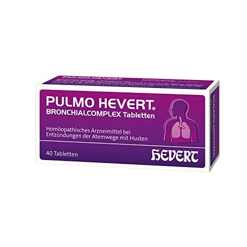 Pulmo Hevert Bronchialcomplex Tabletten, 40 St. Tabletten