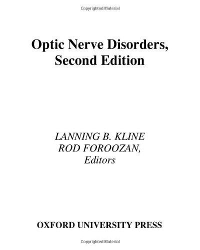 Optic Nerve Disorders (American Academy of Ophthalmology Monograph Series)