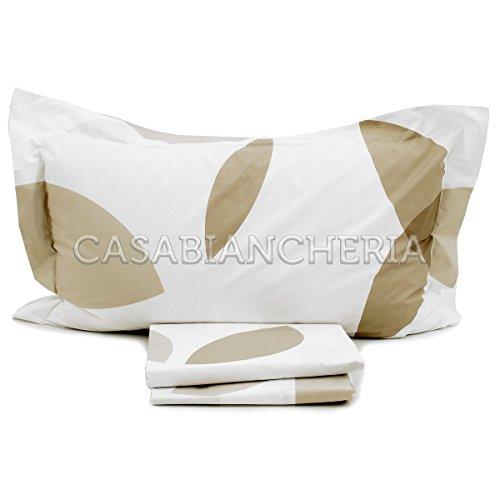 Parure de lit Couvre-lit Mirabello Slice-Bianco-Singolo