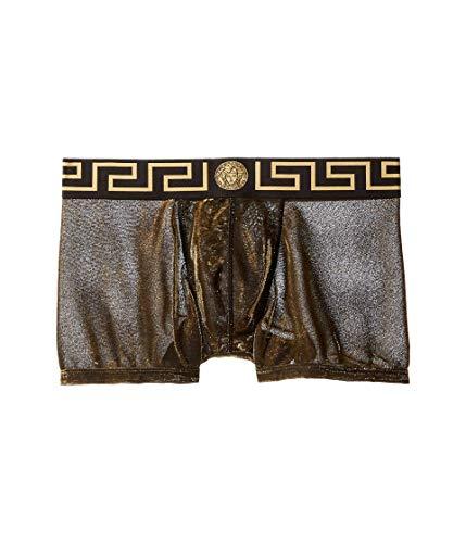 Versace Net Short Trunk Black/Gold 7/XL (US 38)