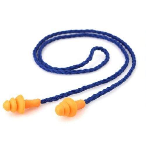Gehörschutzstöpsel mit Kordel (98 dB, für einen Optimalen Gehörschutz bei der Arbeit und in der Freizeit)