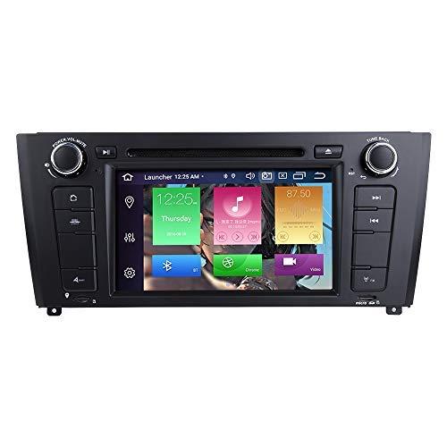 """BOOYES para BMW E81 E82 E87 E88 1 Series Android 10.0 Octa Core 4GB RAM 64GB ROM 7""""Radio del Coche Sistema GPS estéreo Reproductor Multimedia del Coche Soporte Auto Auto Play/TPMS / 4G WiFi"""