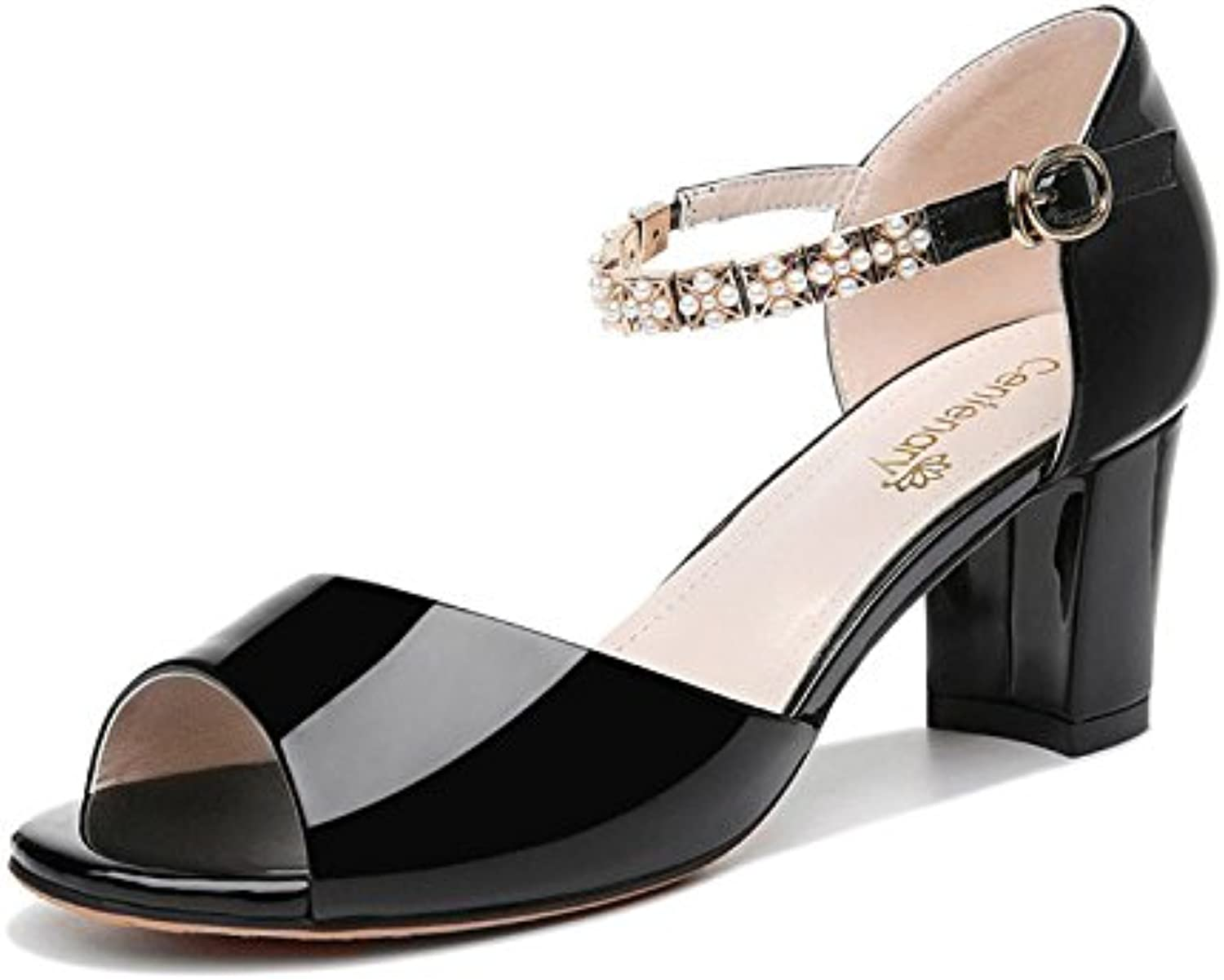 A Pair of Heels and high Heels, Ladies' Sandals, Summer high Heels and Sandals.
