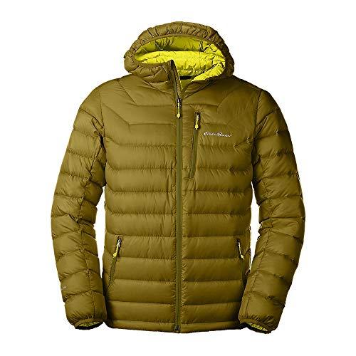 Eddie Bauer Men's Downlight Hooded Jacket, Fern Small