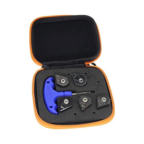 MamimamiH Golfgewicht für Cobra F9 Driver 6g/8g/10g/12g/16g, inkl. 1 Schraubenschlüssel und 1 Tasche