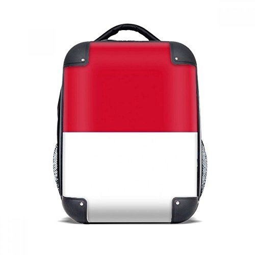 DIYthinker Indonesien Nationalflagge Asien Land Hard Case Schulter Kind-Rucksack-Geschenk 15