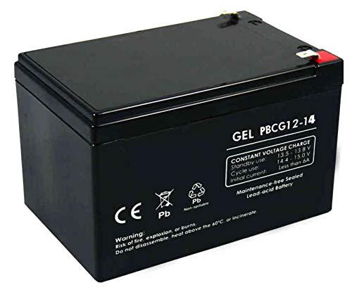 FullBattery Batería Gel Ciclo Profundo 12V 14Ah PBCG12-14