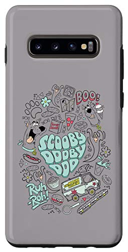 Galaxy S10+ Scooby-Doo Icon Collage Case