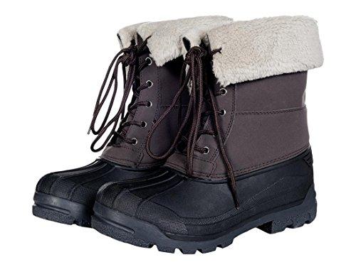 HKM Termiczne buty stojskie -London damskie spodnie niebieski brązowy 42 EU