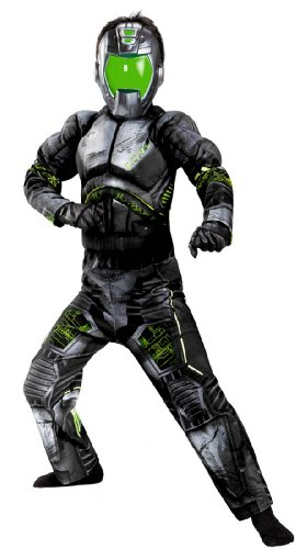 Combat Operative Recon Expedition Commander Deluxe Boys Costume, 10-12