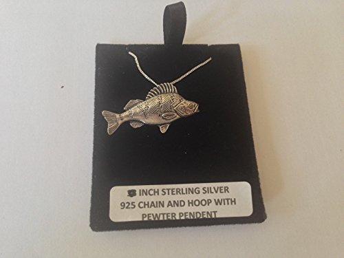 F34 - Collar de plata de ley 925 con cadena de 45,7 cm con prideindetails