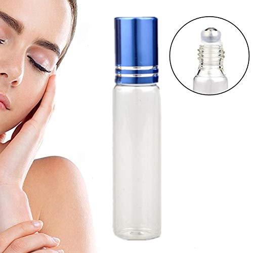 KinderALL Roll on Flacon Parfum Vide Huile Essentielle Liquide Conteneur Rouleau sur Les Bouteilles Parfum Aromathérapie Parfait pour Les Huiles Essen