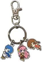 Vocaloid - Ruka, Meiko & Kaito SD Metal Keychain