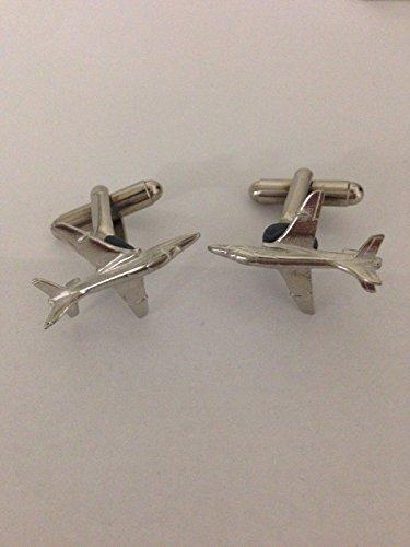 Bae Hawk 60Aircraft Aviation Flugzeug Code C31Paar Manschettenknöpfe aus feinem englischen Moderne Zinn geschrieben von uns Geschenke für alle 2016von Derbyshire UK