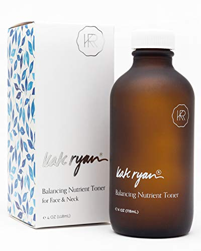Balancing Nutrient Toner (4 ounces) - Refreshing and Energizing for Your Skin - All Natural, Alcohol-Free Toner with Anti-Aging Actives