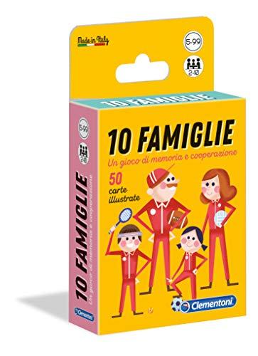 Clementoni - 16172 - Sapientino -10 Famiglie, gioco di carte per bambini