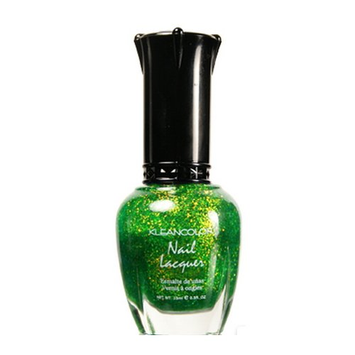 KLEANCOLOR Nail Lacquer-KCNP48-232 Chunky Holo Clover by Kleancolor