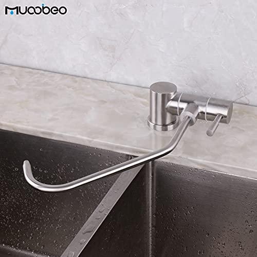 Grifo de la cocina Grifo de agua potable de ósmosis plegable cocina 1/4 ¡± grifo purificador plegable ventana cepillada de acero inoxidable se puede abrir