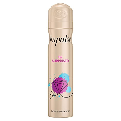 Impulse Desodorante Spray be Surprised sin aluminio (75 ml, 3 unidades x 75 ml)