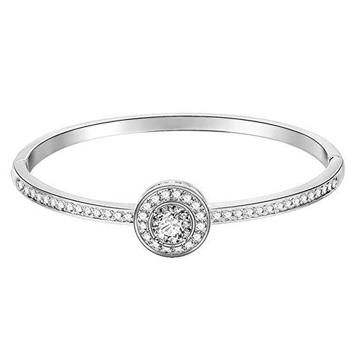 Wicemoon Fashion New Alloy Bracelet Micro Inlaid Zircon Bracelet Women Beautiful Jewelry Accessory