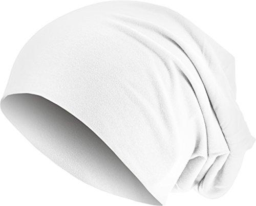 MSTRDS Unisex Erwachsene Jersey Beanie Strickmützen,per Pack Weiß (White 3413),One Size (one Size)
