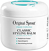 Original Sprout Natural Styling Balm. Non-Toxic Firm Holding Hair Styling Balm. 2 Ounces Single Pack. (Packaging May Vary)