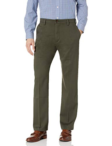 Dockers Men's Classic Fit Easy Khaki Pants D3, Coffee Bean (Stretch), 36 32