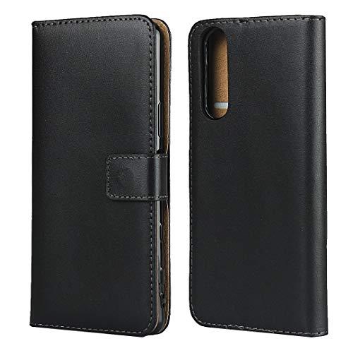 RYRYBH2848 Caja de la Bolsa de Billetera de Cuero Bounty con [Kickstand] [Slots de Tarjeta] [Cierre magnetizado] para Sony Xperia 5 II, Funda de Cuero para Sony Xperia 5 II