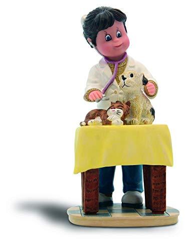 Nadal CUIDANDO Tus Mascotas Figura DE Veterinaria, Resina, Multicolor, 14