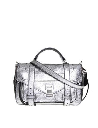 Proenza Schouler Luxury Fashion Donna H006691112 Argento Borsa A Mano   Autunno Inverno 19