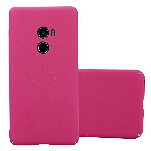 Cadorabo Funda para Xiaomi Mi Mix 2 en Frosty Rosa - Cubierta Protección de Plástico Duro Super Delgada e Inflexible con Antichoque - Case Cover Carcasa Protectora Ligera