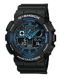 Casio G-SHOCK Reloj Analógico-Digital, 20 BAR, Negro, para Hombre, GA-100-1A2ER
