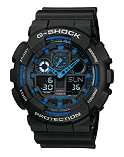 Casio G-SHOCK Reloj Analógico-Digital, 20 BAR, Negro, para Hombre, GA-100-1A2ER (B0039YOHYY) | Amazon price tracker / tracking, Amazon price history charts, Amazon price watches, Amazon price drop alerts