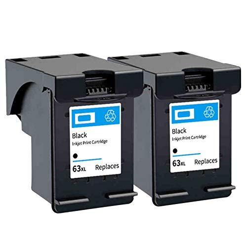 Cartuchos de tinta de repuesto remanufacturados HP 63XL para cartuchos de tinta 2130, 3630, 3830, Officejet 4520, 4650, 3632, Officejet5220, negro2