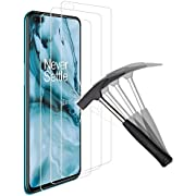 ANEWSIR [3 Pack] Cristal Templado para OnePlus Nord,OnePlus Nord Protector de Pantalla,OnePlus Nord vidrio templado,[9H Dureza] [HD Film] [Resistente a rayones] [Fácil de instalar]