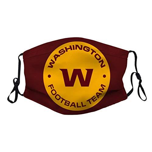 Brecoy Washington Football Reusable Cotton Warm Face Protection for Outdoor