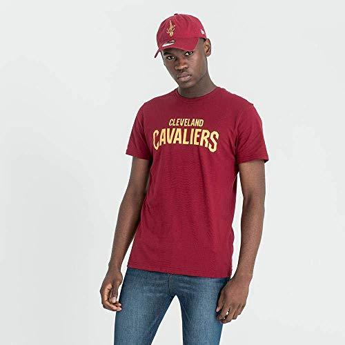 New Era NBA Team Apparel Pop Logo tee Clecav Camiseta Línea Cleveland Cavaliers, Unisex niños, Car, L