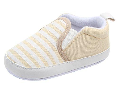Y-BOA Chaussure Bateau Mocassin Souple Enfants Fille Garçon Premier Pas Oxford Automne Jaune Semelle 11cm