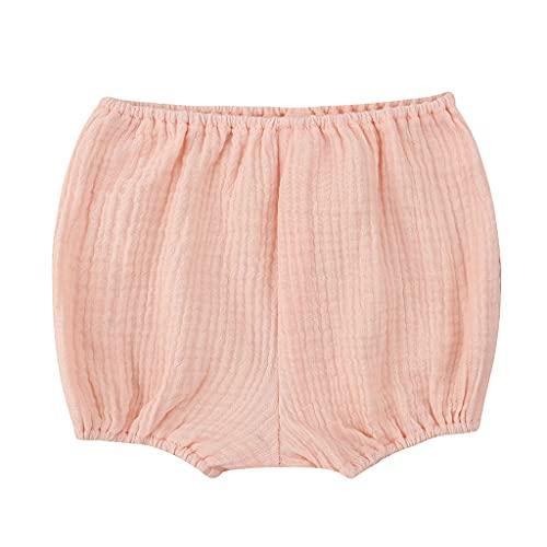 Y-POWER Bebé Algodón Bloomers Moda Bebé Niñas Niños Cortos Recién Nacido Niño Bebé Coreano Pañal Cubierta Harem Pantalones 0-18M