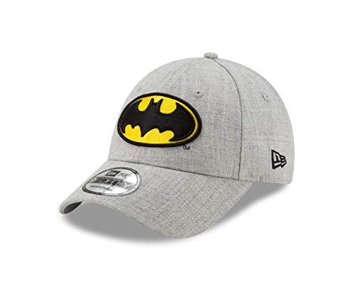 New Era Batman Classic Logo Gris 9Forty Gorra ajustable