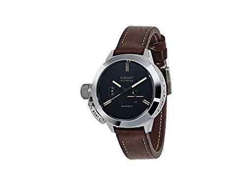 U-Boat Classico Automatik Uhr, Edelstahl 316L , Wolfram, Schwarz, 45mm., 8079