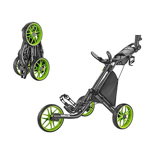 CaddyTek Caddylite EZ V8 - EZ-Fold 3 Wheel Golf Push Cart is the best choice