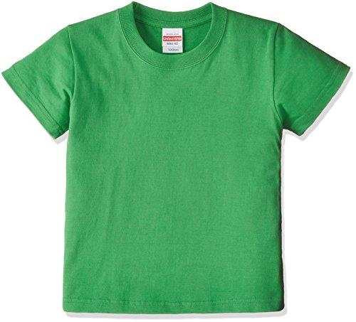 (ユナイテッドアスレ)UnitedAthle 5.6オンス ハイクオリティー Tシャツ 500102 [キッズ] 025 ブライトグリーン 110