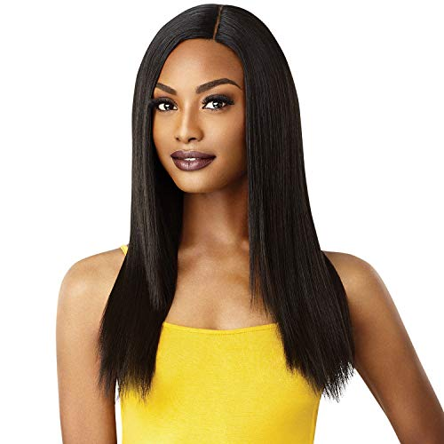 Outre Lace Front Wig The Daily Wig Hand-Tied Lace Part Wig Blake (1B)