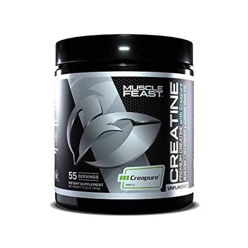 Muscle Feast Creapure Creatine Monohydrate Powder | 5400Mg of Premium...