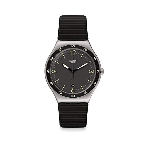 Reloj Swatch Analógico Cuarzo Irony Big Classic YWS454 Black Suit Big Classic