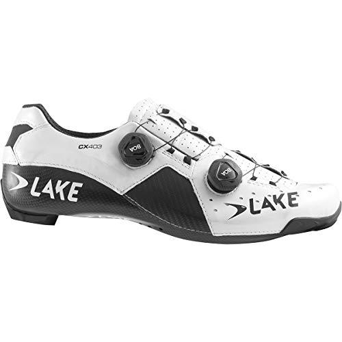Lake Cx403, Unisex-Erwachsene Schuhe Cx403-X, Unisex, L3018722, Weiß/Schwarz, 41.5
